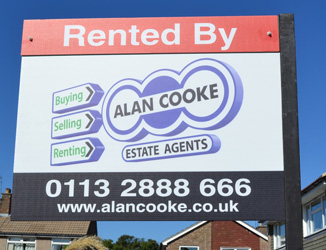 Rented by Alan Cooke Board